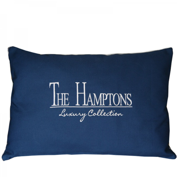 Poduszka The Hamptons Navy Blue 40x60cm