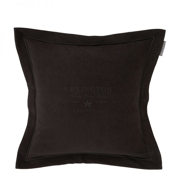 Poduszka Lexington Hotel Velvet Sham Dark Grey 50x50cm