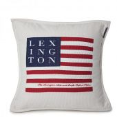 Poduszka Lexington Logo Art & Crafts Sham Beige&White