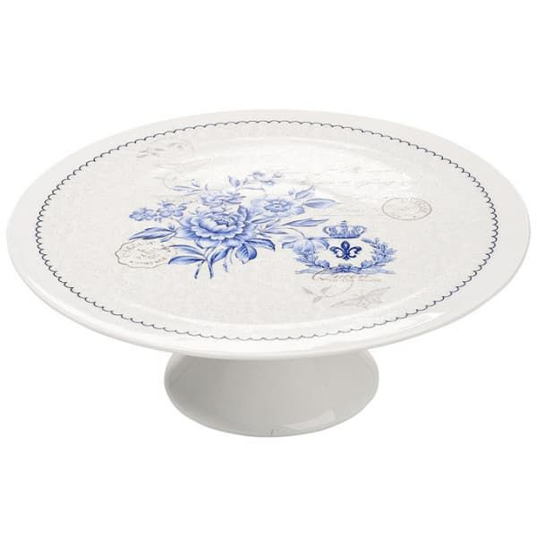 Patera Blue Flowers