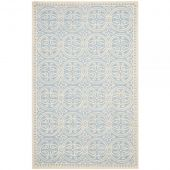 Dywan Geometric Light Blue&Ivory 152x243cm