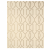 Tapeta American Trellis Pearl  on Cream